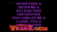 Metallica - The Unforgiven - karaoke instrumental