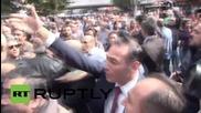 Турция: Сблъсъци по време на демонстрация в памет на жертвите в Анкара