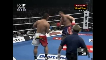 K-1 World Grand Prix 2006 Reserve Fight Peter Aerts Vs Musashi