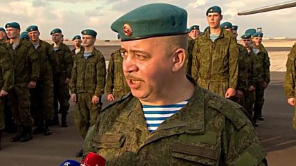 Egypt: Russian Airborne units land in Alexandria for joint drills
