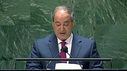 UN: 'Turkey committed war crimes in the Syrian territories it occupies' - Syrian FM at UNGA