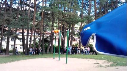 Street Workout - Турнир - Чепеларе - Радостин Колев