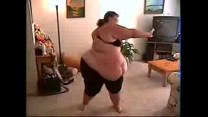 Най - дебелата жена която сте виждали !!!