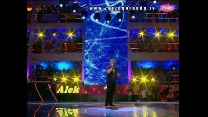 Aleksa Radenković - Opet sam ti u kafani (Zvezde Granda 2010_2011 - Emisija 27 - 09.04.2011)
