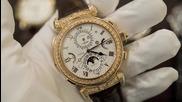 Вижте отблизо, най- сложният ръчен часовник в света: Patek Philippe Grandmaster Chime