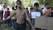 Serbia: Refugees hunger strike to demand opening of Serbian-Hungarian border