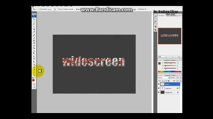 Photoshop Cs 3 - Как да направите текст с кръв и още екстри