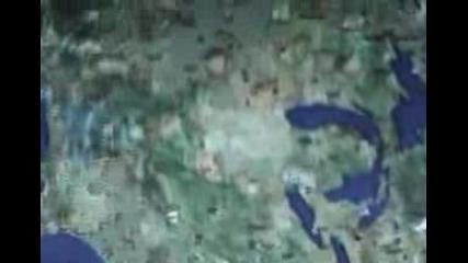 Google Earth Секретни Нло Мистерии И скрити места Част 1