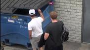 Скрита камера : бебе в кофа за боклук