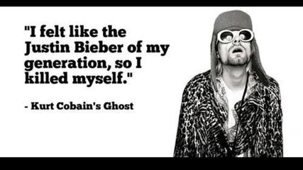 Justin Bieber vs Kurt Cobain
