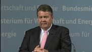 Germany: VC Gabriel touts CETA trade deal with Canada