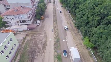 Щетите във Варна от небето - 22.06.2014