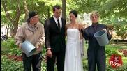 Смях! Една кофа вода върху булка и младоженец - скрита камера