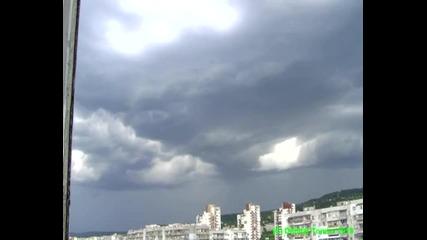 Varna distant storm timelapse