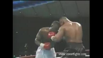 Ето как бе нокаутиран Майк Тайсън за първи път преди 25 години (видео) - Бойни спортове - Sportal.bg