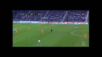 Сезон 2013-2014 Купа На Испания Четвъртфинал 1 Мач Еспаньол - Реал М 0-1 Целия Мач