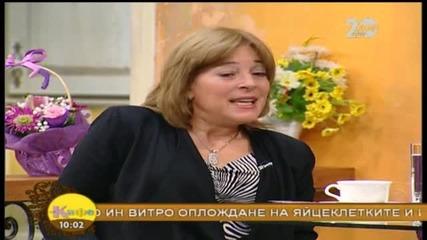 """Какво се случва с Юлия и Васко Скарлатови от проекта """"Моето мечтано бебе"""" - На кафе (12.11.2014)"""