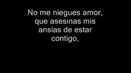 Tamara - No Me Niegues Amor