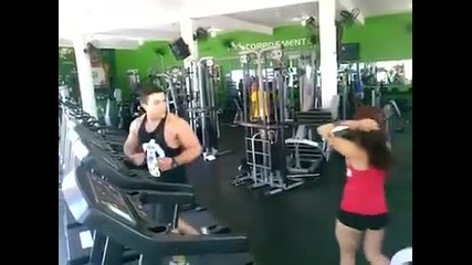 Инцидент във фитнеса
