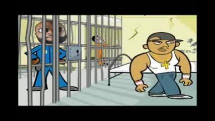 Анимация : 50 Cent Vs. Rick Ross