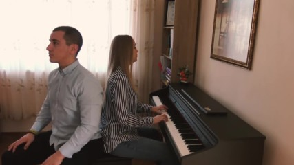 "TATIANA HYUSEIN & AYHAN INFIRE ""Tom Odell - Can't Pretend"" (Piano Cover & Beatbox)"