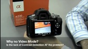 Sony Alpha A330 First Impression Video by Digitalrev