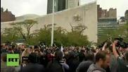 САЩ: Палестинският глег бе вдигнат пред щаба на ОН в Ню Йорк