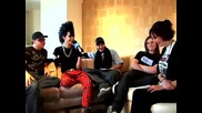 Tokio Hotel talks Halloween and famale artists Buzznet part 2