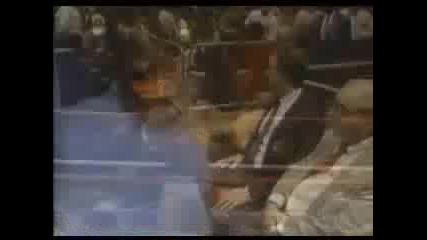 Ultimate Warrior vs. Macho Man Randy Savage (pt 1)