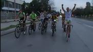 Краят на обиколката на България с колела 2014 - Навлизане в София.