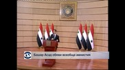 Башар Асад обяви всеобща амнистия