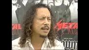 Интервю С Kirk Hammett И Phil Anselmo