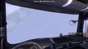 Летящ камион - Бъг на Ets 2 (euro Truck Simulator 2)