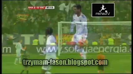 Real Madrid 2 - 0 Valencia 04 12 2010 All Goals