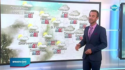 Прогноза за времето (24.10.2020 - централна емисия)