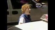 Скелет в полицейска кола (скрита камера)