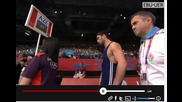 2012 Olympic Games- Freestyle Wrestling, Final 84kg. Sh. Sharifov (aze) vs. L. Espinal (pur)