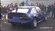 800bhp Ford Escort Rs Cosworth Huge Revs and Flame!