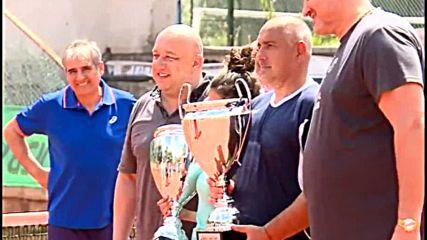Бойко Борисов спечели тенис турнир на двойки