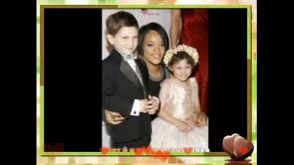 Rihanna Като Малка И Със Семейството Си