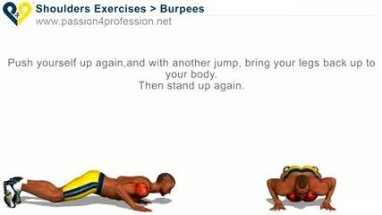 Упражнение за Гърдите и Трицепса - Burpees