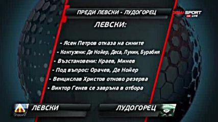 Преди Левски - Лудогорец