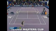 Тенис Класика : бекхенд шоу на Федерер
