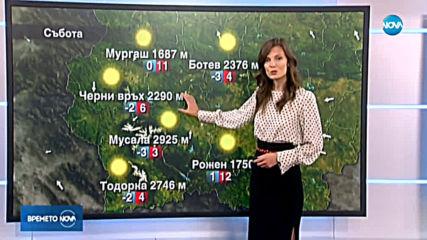 Прогноза за времето (21.09.2019 - обедна емисия)