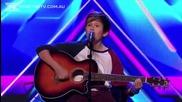 Момче изуми публиката и журито с гласа си в xfactor Australia 2013