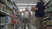 пушък в супермаркета - смях
