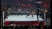 Shield vs Rhodes and Big E Langston Raw 21.01.14