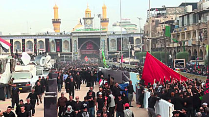 Iraq: Worshippers make their way to Karbala in Arbaeen pilgrimage