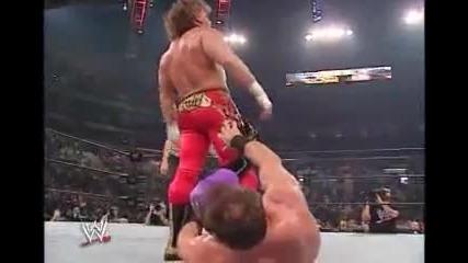 Крис Беноит срещу Еди Гереро - Армагедон 2002 година.