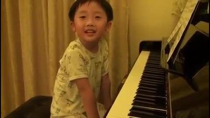 Малко дете с голям талант!